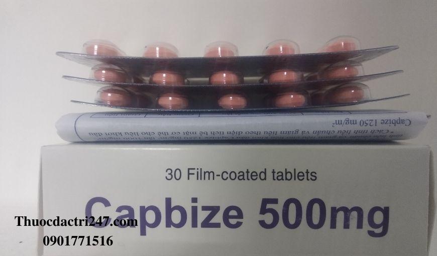 Thuoc-Capbize-500mg-Capecitabine-Dieu-tri-benh-ung-thu
