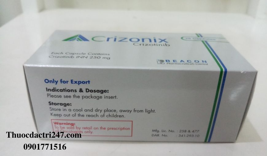 Thuoc-Crizonix-250mg-Crizotinib-Cong-dung-va-cach-dung