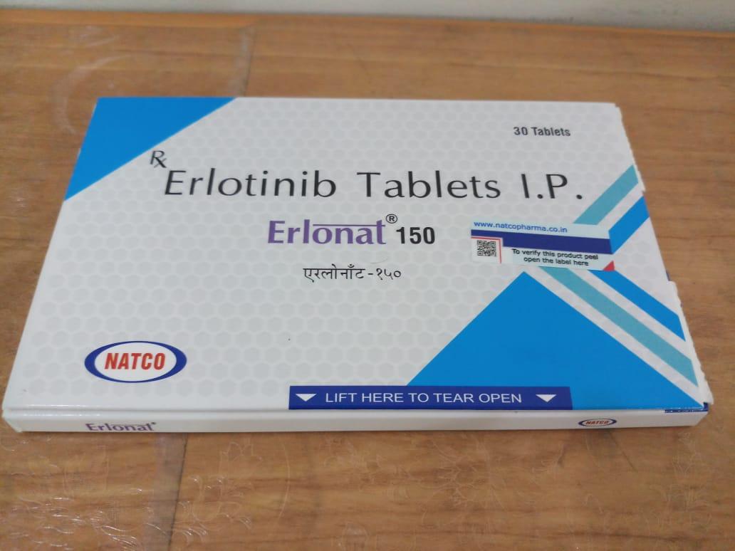 Thuốc Erlonat 150mg (Erlotinib): Công dụng và liều dùng (2)