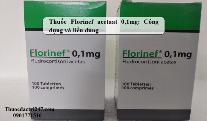 Thuoc-Florinef-acetaat-0-1mg-Cong-dung-va-lieu-dung