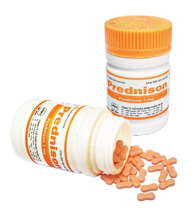 Prednisolon - Thuốc kháng viêm hiệu quả