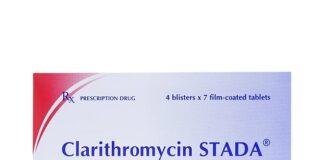 Những điều cần biết khi dùng thuốc Clarithromycin Stada 500mg