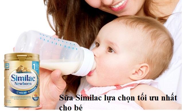 Sữa Similac lựa chọn tối ưu nhất cho bé