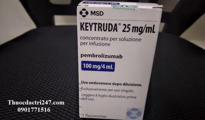 Thuoc-Keytruda-Pembrolizumab-Cong-dung-va-lieu-dung