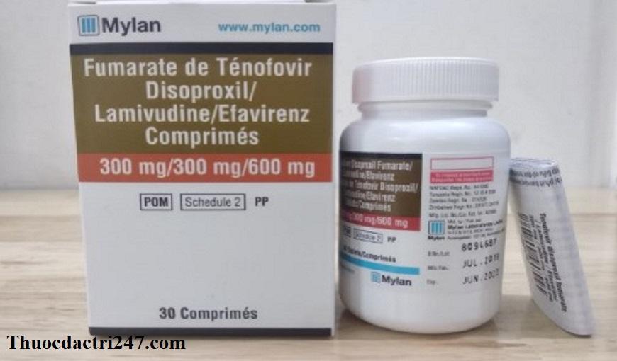 Thuoc-Tenofovir-Lamivudine-Efavirenz-Cong-dung-va-lieu-dung