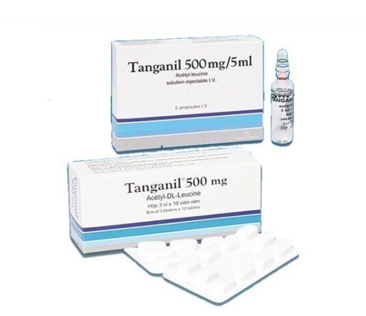 Thuốc Tanganil là thuốc gì? Giá bao nhiêu?
