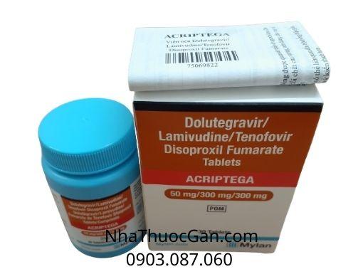 Thuốc Acriptega điều trị nhiễm HIV