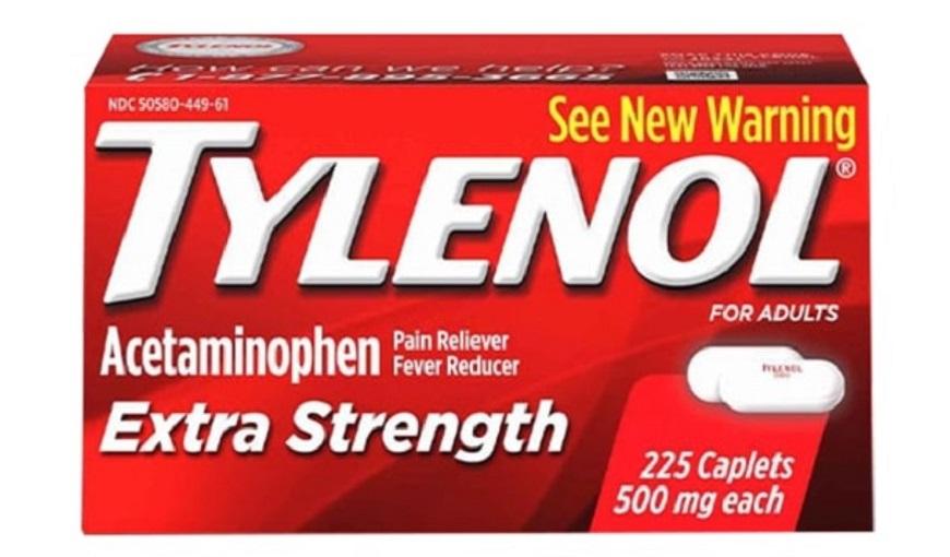 Thuoc Tylenol Acetaminophen cong dung va lieu dung